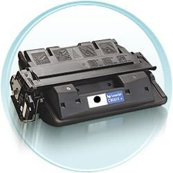 hp negro hpc8061x toner compatible  hp 4100,troy 4100-10.000 pagine #c8061x